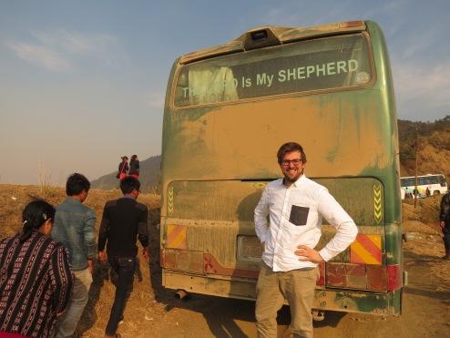 Veiens hyrde: Jeg er ikke korsets mann, kanskje med unntak av bil- og busskjøring i Chin-staten.